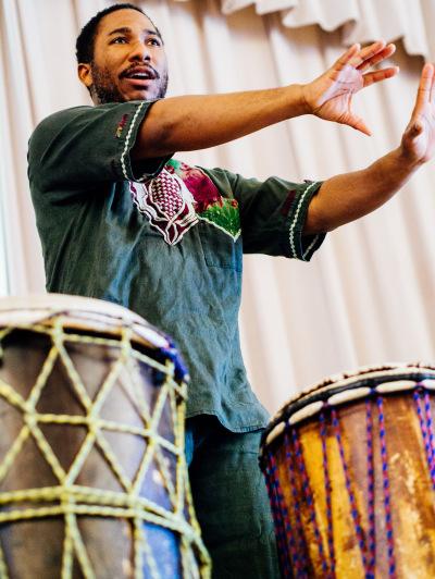 TJ Carter credit The Magic of African Rhythm