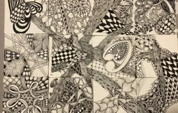 Sayaka – Zentangle art