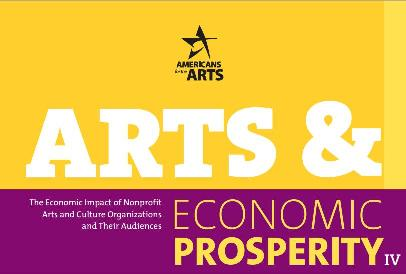 Logo for the Arts and Economic Prosperity 4 Project